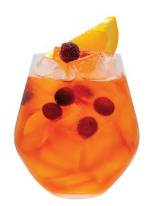 monin Cranberry Citrus Spritz