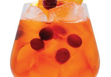 monin Cranberry Citrus Spritz
