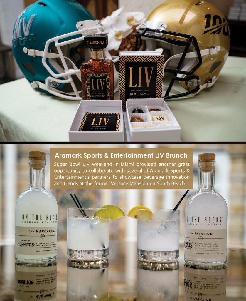Aramark Sports & Entertainment LIV Brunch