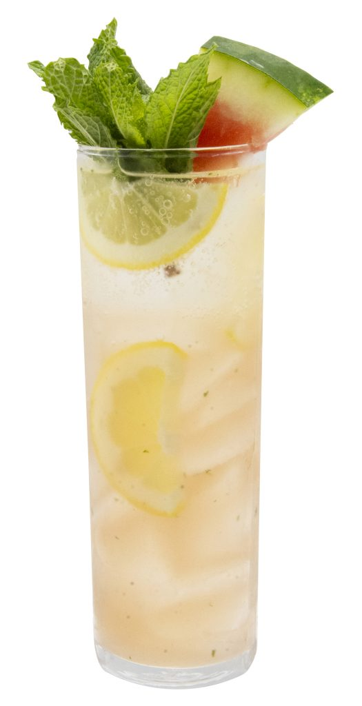 Sparkling Melon Mint Lemonade