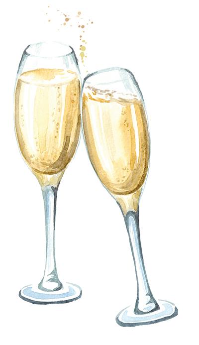 champagne tarriffs