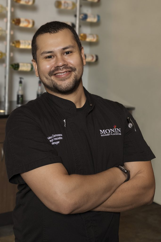 Andres Zamorano, Monin Beverage Innovation Manager