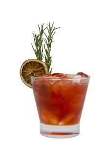 Winter Thyme Americano cocktail from monin