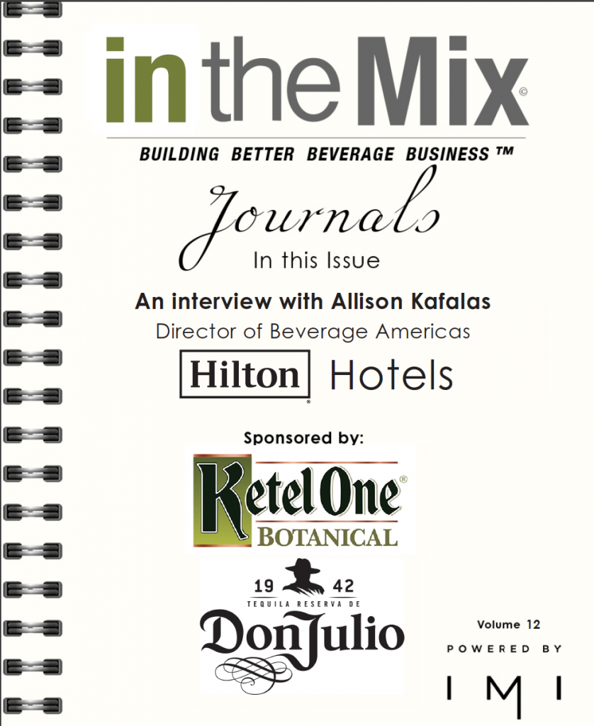 in the mix Journals - Hilton