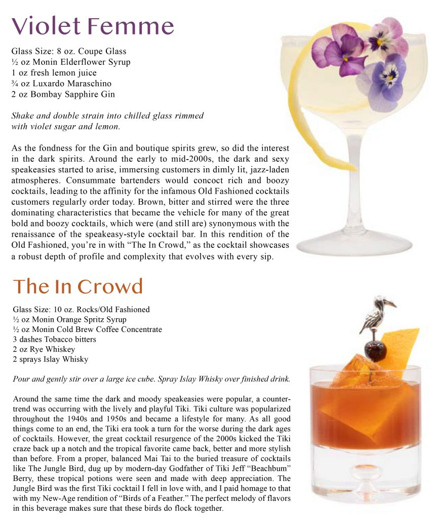 Evolution of the Classic Cocktail with Andrew Pollard of MONIN